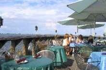 Melbourne Florida Restaurant dining deck & river view