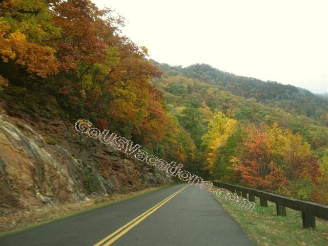 Blue Ridge Parkway Fall Colors - North Carolina - Colorful Fall Vacation Road Trip