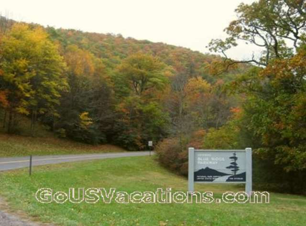 Blue Ridge Parkway Fall Colors - North Carolina