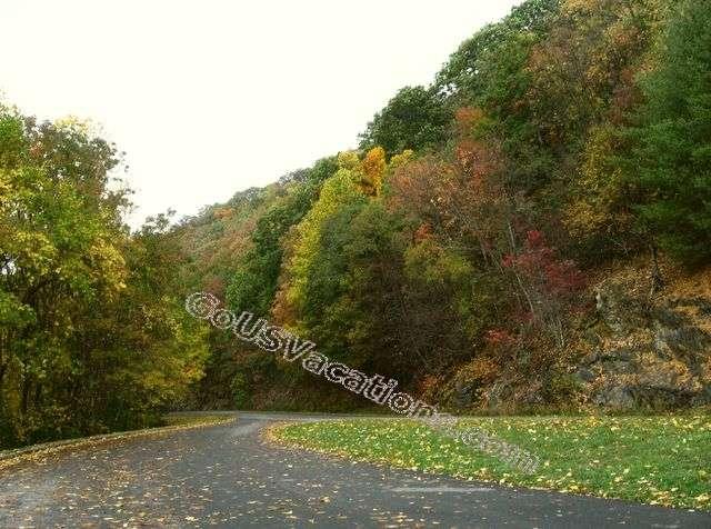 Carrol Gap Scenic Overlook - Blue ridge Parkway vacation