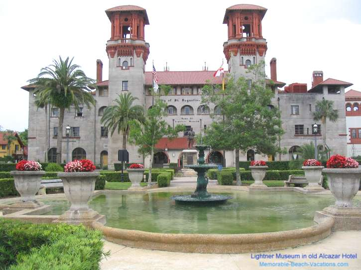Florida St Augustine Alcazar Hotel Built By Flagler Lightner Museum Attraction
