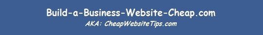 Build-a-Business-Website-Cheap.com