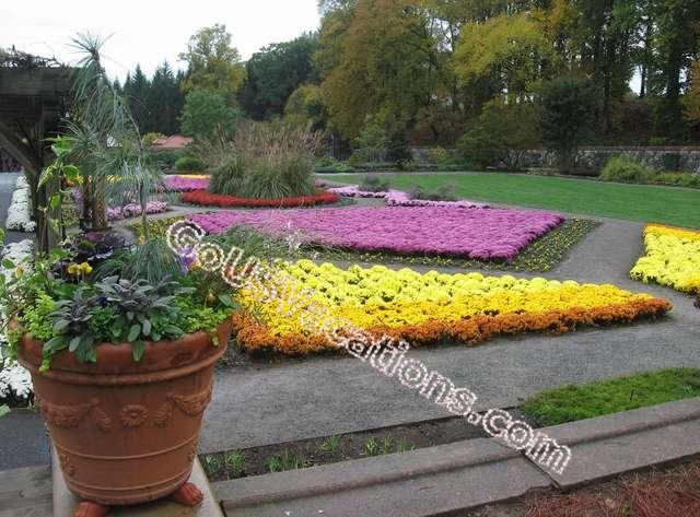 Biltmore Mansion Gardens - Asheville, North Carolina