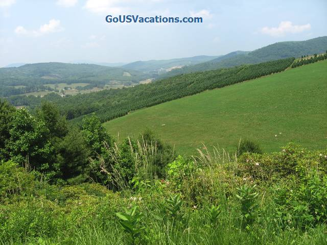 Carrol Gap Scenic Overlook - Blue ridge Parkway vacation