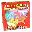 Brain Quest Sates Geography game from AreYouGame