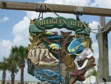 Milliken's Reef Restaurant Sign