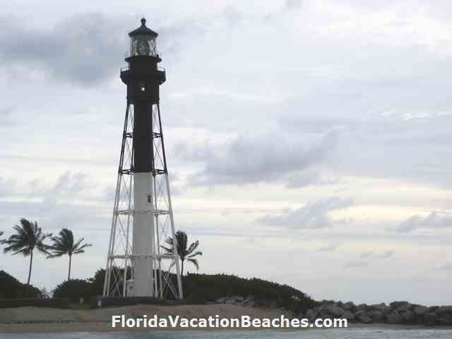 Hillsboro Beach Lighthouse - on Pompano Beach, Florida