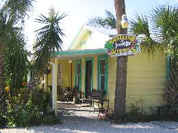 Bonefist Willy's Restaurant entrance & sign
