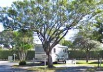 Florida St Augustine RV Campground Site