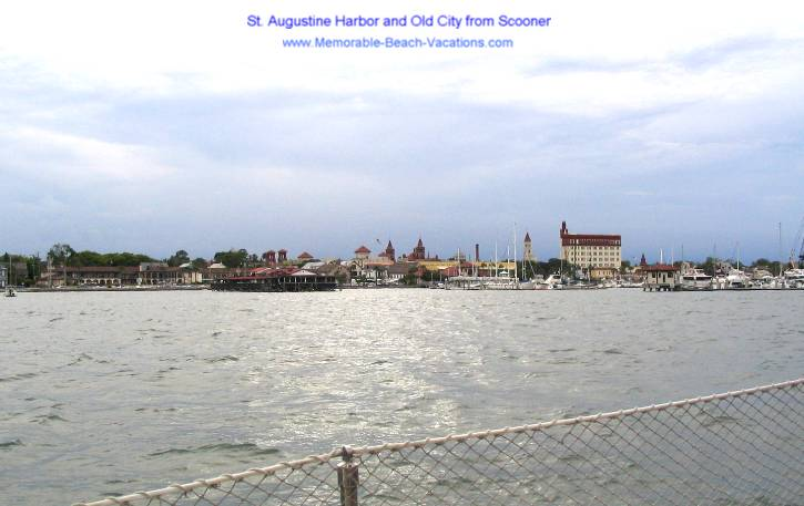 St Augustine Florida - Old City Harbor View