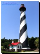 Historic St Augustine Florida Lighthouse - 14 stories of steps to the top!