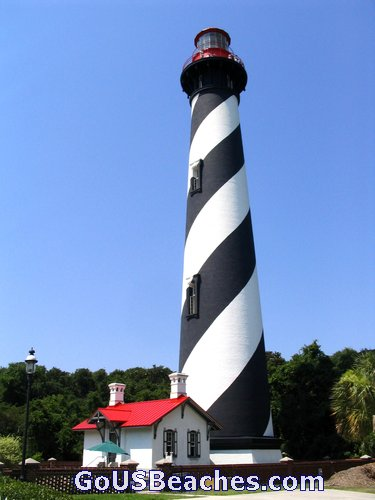Historic St Augustine Lighthouse - 219 steps to top - St Augustine Floria Attractions