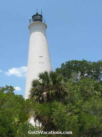 Florida St Mark Lighthouse - south of Tallahassee, FL