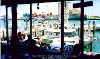 Grills restaurant View of Port area - Cocoa Beach - Atlantic Ocean