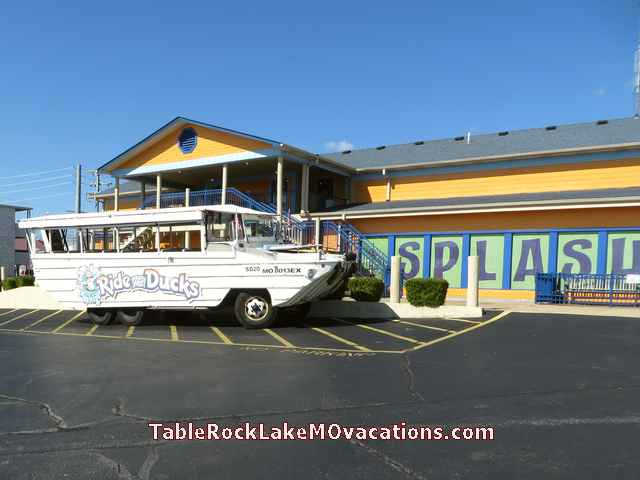 Branson MO Attraction -- Vehicle used for Ride the Ducks Car / Boat ride to Table Rock Lake