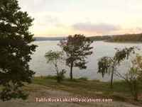 View of Missouri Table Rock Lake from Timeshare Condo Balcony