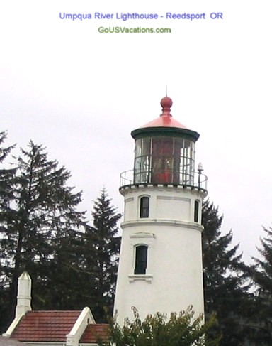 Umpqua River Lighthouse - Reedsport Oregon