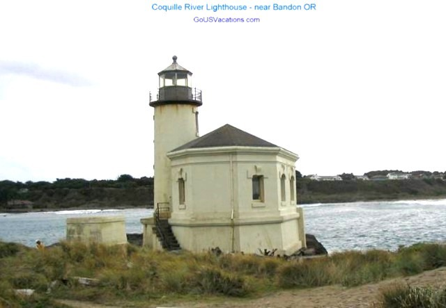 Coquille River Lighthouse - Oregon Light House