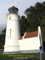 Coastal Oregon Light House Picture - Heceta Head Lighthouse