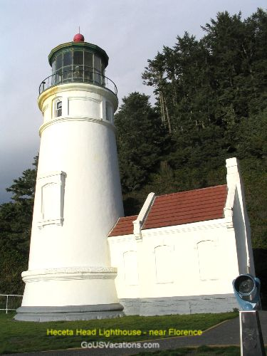 Heceta Head Lighthouse - near Florence OR