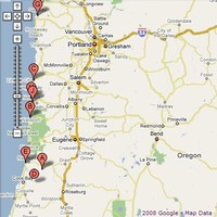 Map of Oregon Coast & Attractions