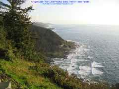 Oregon Coast - Cape Perpetua Scenic Overlook