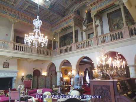John Ringling Mansion main living room