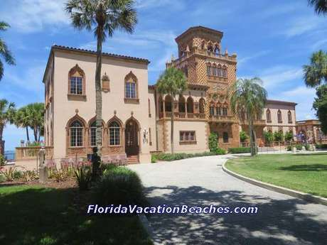 John Ringling Mansion from front