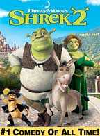 Shrek2 DVD Cover - kids movie DVD discounts pg