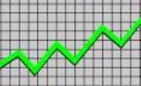 Increasing Site Traffic Stats Graph