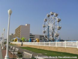 Virginia Beach picture: Boardwalk Carnival - Get a high view of the beach from the Ferris wheel