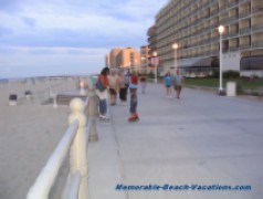 Virginia Beach Boardwalk - Enjoy the Ocean view and watching people - great Virginia Beach Picture possibilities