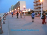 Virginia Beach picture - Boardwalk in evening