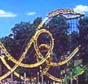 Loch Ness Monster Roller Coaster - Williamsburg Busch Gardens (Pict from Brochure) - Near Virginia Beach Attraction