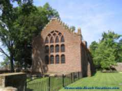 Colony Church - Jamestown National Historical Site - Virginia Family Vacation Beaches Attraction