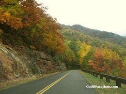 Blue Ridge Parkway Fall Vacation Colors