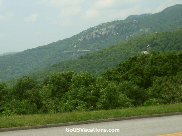 Thunder Hill Overlook - Blue Ridge Parkway vacation