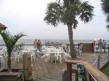 Cocoa Beach FL Restaurant Favorite - Lobster Shanty Deck