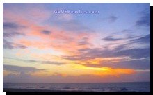 Cocoa Beach Sunrise over Atlantic Ocean from Condo Balcony - Memorable Beach Vacations home pg