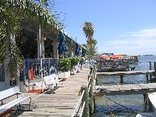 Sunset Cafe - West Side Seating + Dock