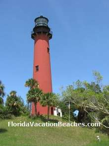 Pictures of Florida Lighthouses - Jupiter Inlet Lighthouse