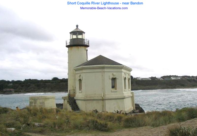 Coquille River Lighthouse - near Badon - 40 foot tower