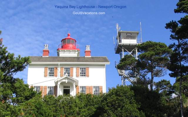 Yaquina Bay Lighthouse - Newport OR