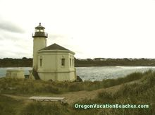 Coquille River Lighthouse - near Bandon Oregon Beaches