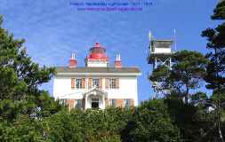 Yaquina Bay Lighthouse - Built in 1871