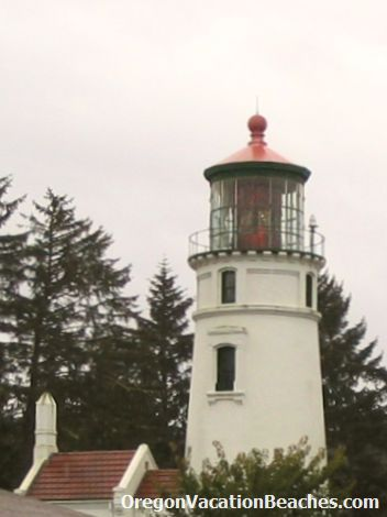 Umpqua River Lighthouse - southwest of Reedsport, Oregon