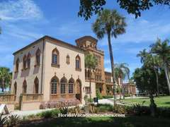 Sarasota FL Ringling Sarasota Circus Museum Mansion Attraction