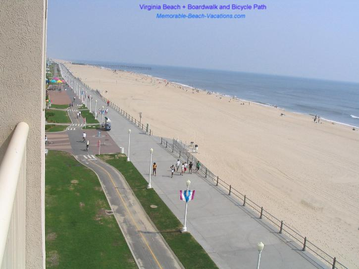 Virginia Beach Boardwalk and Bicycle Path