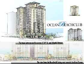 Ocean Beach Club Drawings