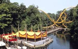 Busch Gardens Loch Ness Monster roller coaster